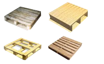 Wooden Pallets For Shipping Industry