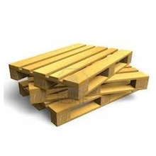 Heavy Wooden Pallets for Warehousing